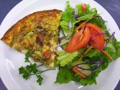 Quiche For Dinner