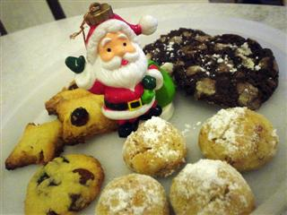 homemade xmas cookies
