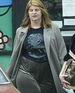Kirstie Alley Is Fat