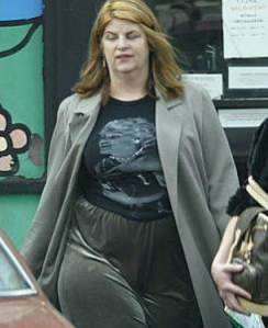 kirstie alley after